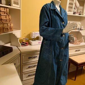 Vintage Hovis by Hoveland denim coat.